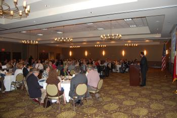 Congressman Olson speaks at the 288 Partnership Luncheon