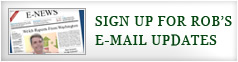 Sign Up For Rob's E-mail Udpdates