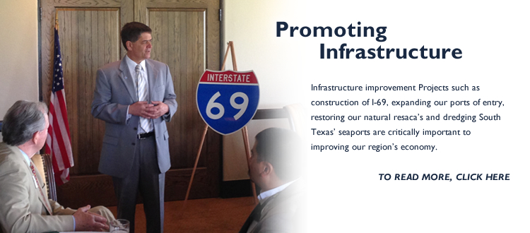 Promoting Infrastructure