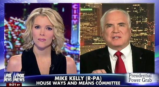 "Rep. Kelly Denounces President Obama's Unprecedented Overreach on Fox's ""The Kelly File"" feature image"