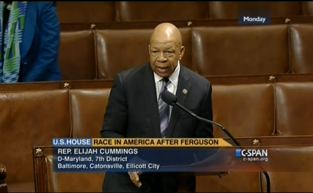 Cummings Pushes for Change in the Wake of Ferguson Shooting feature image