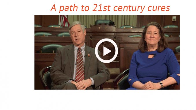 A path to 21st century cures