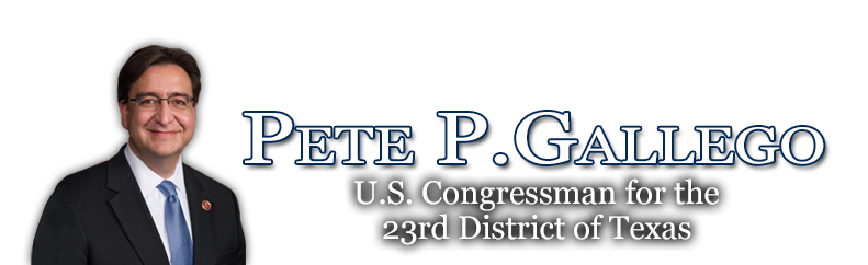 Congressman  Pete Gallego
