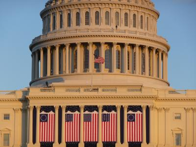 US Capitol during Inauguration
