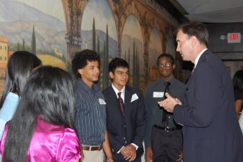 Congressman Olson with Congressional Youth Advisory Council