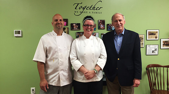 Coats Visits Bridy's Bakery in Frankfort