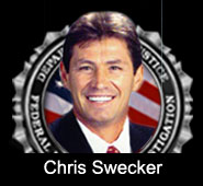 Graphic of Chris Swecker.