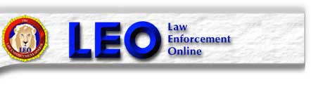 Graphic banner for LEO Law Enforcement Online