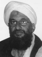 This is a photograph of AYMAN AL-ZAWAHIRI